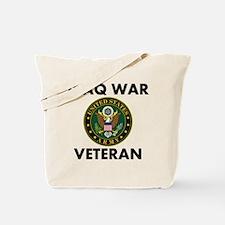 Iraq War Veteran Tote Bag