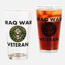 Iraq War Veteran Drinking Glass