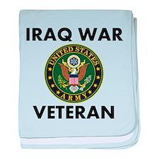 Iraq War Veteran baby blanket