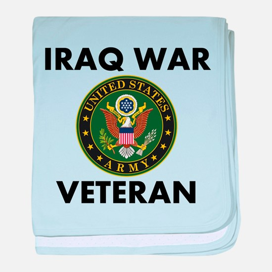 Iraq War Veteran baby blanket