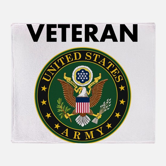 U.S. Army Veteran Throw Blanket