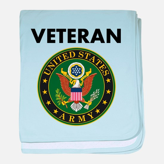 U.S. Army Veteran baby blanket