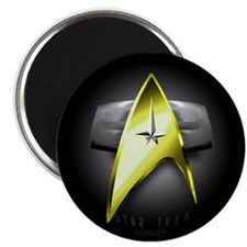 black and gold voyager Magnets