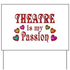 Theatre Passion Yard Sign