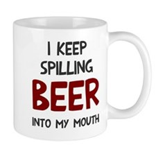 Spill Beer Into Mouth Mug