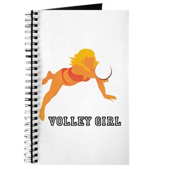 Volley Girl Volleyball Journal