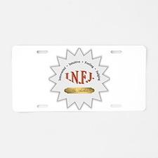 INFJ Aluminum License Plate