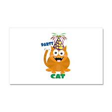 Party Cat Car Magnet 20 x 12