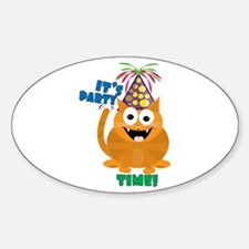 Party TIme Decal