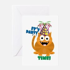 Party TIme Greeting Cards