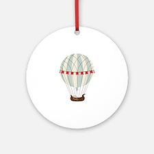 Hot Air Balloon Ornament (Round)