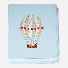 Hot Air Balloon baby blanket