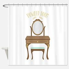 Powder Room Shower Curtain