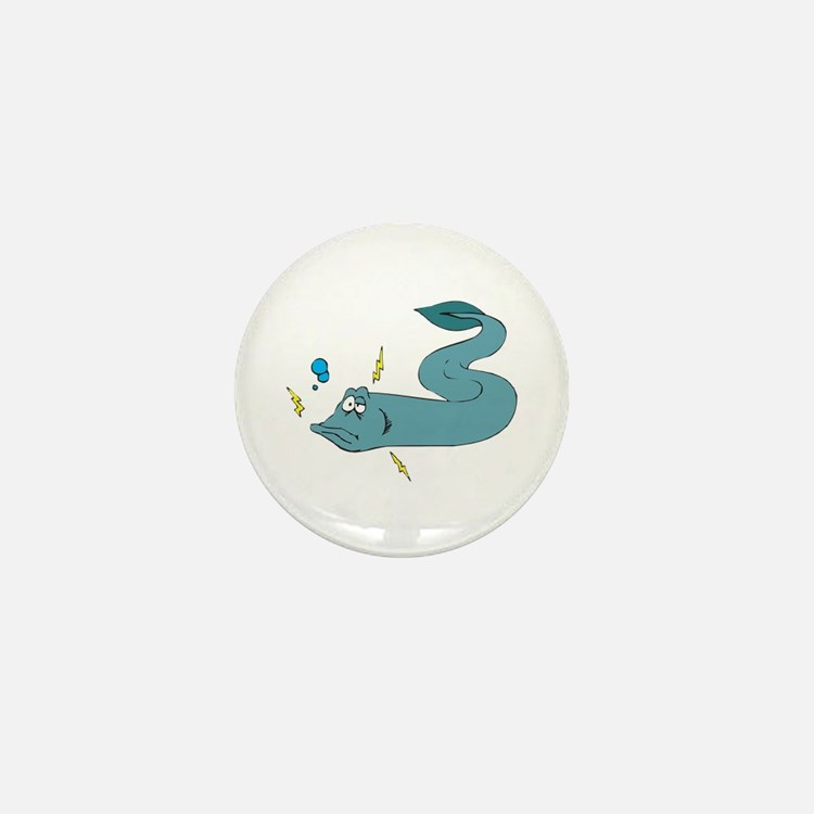 Silly Electric Eel Mini Button