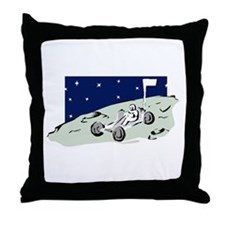 Lunar Rover Throw Pillow