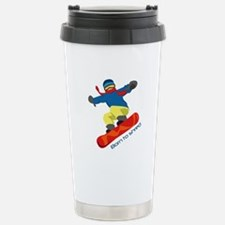 Born To Shred Travel Mug