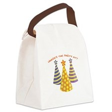 Wheres The Party Canvas Lunch Bag