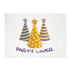 Party Lover 5'x7'Area Rug