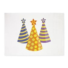 Party Hats 5'x7'Area Rug