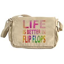 Funny Life Messenger Bag
