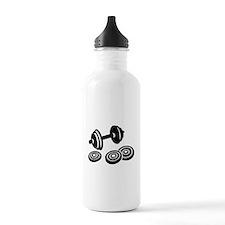 Barbell Dumbbell Water Bottle