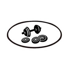Barbell Dumbbell Patches