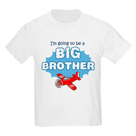 Big Brother to be -Airplane Kids Light T-Shirt