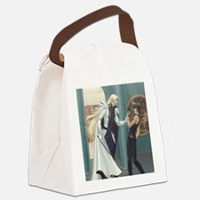 Classic Taming Riki Icon Canvas Lunch Bag