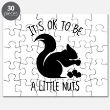 It's OK To Be A Little Nuts Puzzle