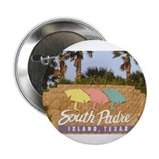 "south padre island 2.25"" Button (10 pack)"