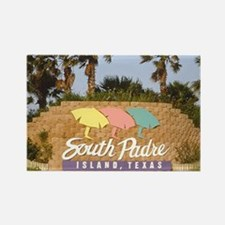 south padre island Rectangle Magnet