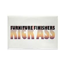 Furniture Finishers Kick Ass Rectangle Magnet