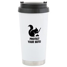 Protect Your Nuts! Travel Coffee Mug