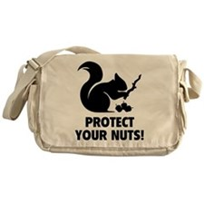 Protect Your Nuts! Messenger Bag