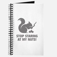Stop Staring At My Nuts! Journal