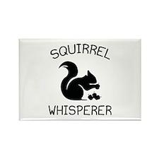 Squirrel Whisperer Rectangle Magnet