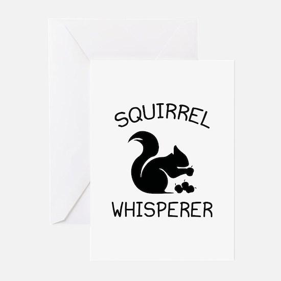 Squirrel Whisperer Greeting Cards (Pk of 20)