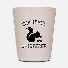 Squirrel Whisperer Shot Glass