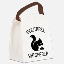 Squirrel Whisperer Canvas Lunch Bag