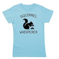 Squirrel Whisperer Girl's Tee