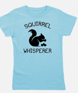 Squirrel Whisperer Girl's Tee