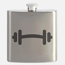 Barbell Dumbbell Flask