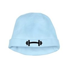 Barbell Dumbbell baby hat