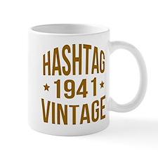Hashtag Vintage 1941 Mug