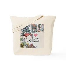 Cute I love kindergarten Tote Bag