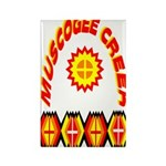 MUSCOGEE CREEK Rectangle Magnet (100 pack)