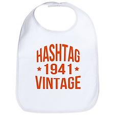 Hashtag Vintage 1941 Bib