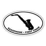 Saxophone - First Chair Sticker