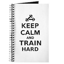 Keep calm and train hard Journal