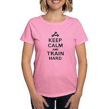 Keep calm and train hard Tee